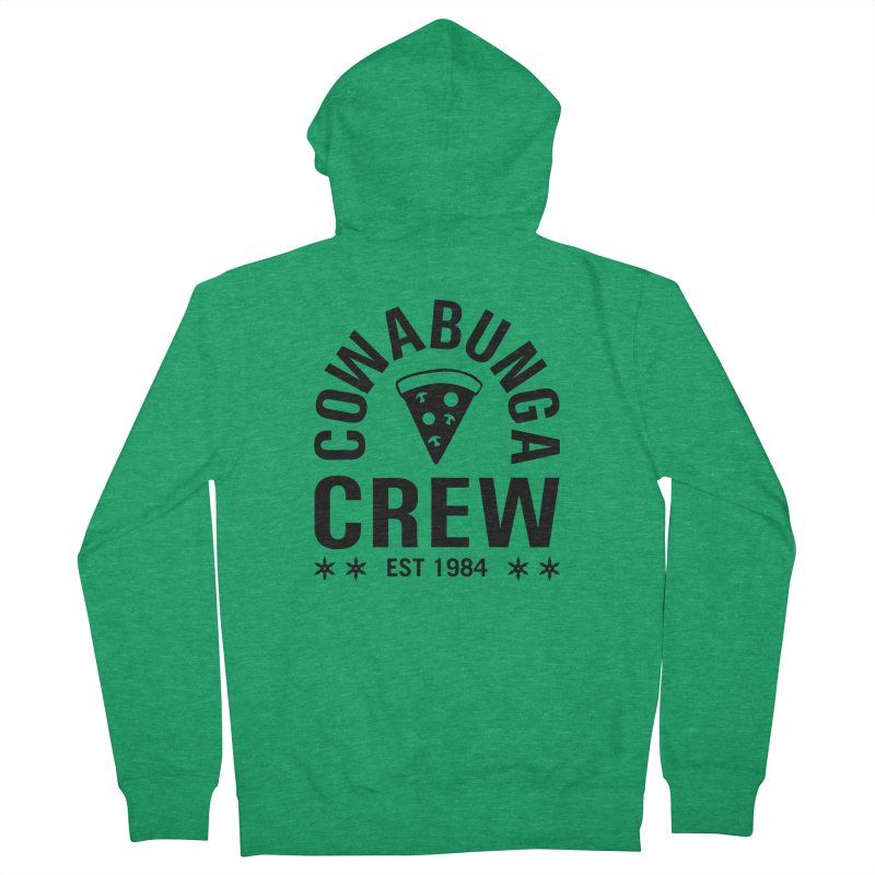 Cowabunga Crew Women's Zip-Up Hoody by Greg Gosline Design Co.