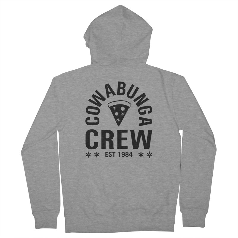 Cowabunga Crew Women's French Terry Zip-Up Hoody by Greg Gosline Design Co.