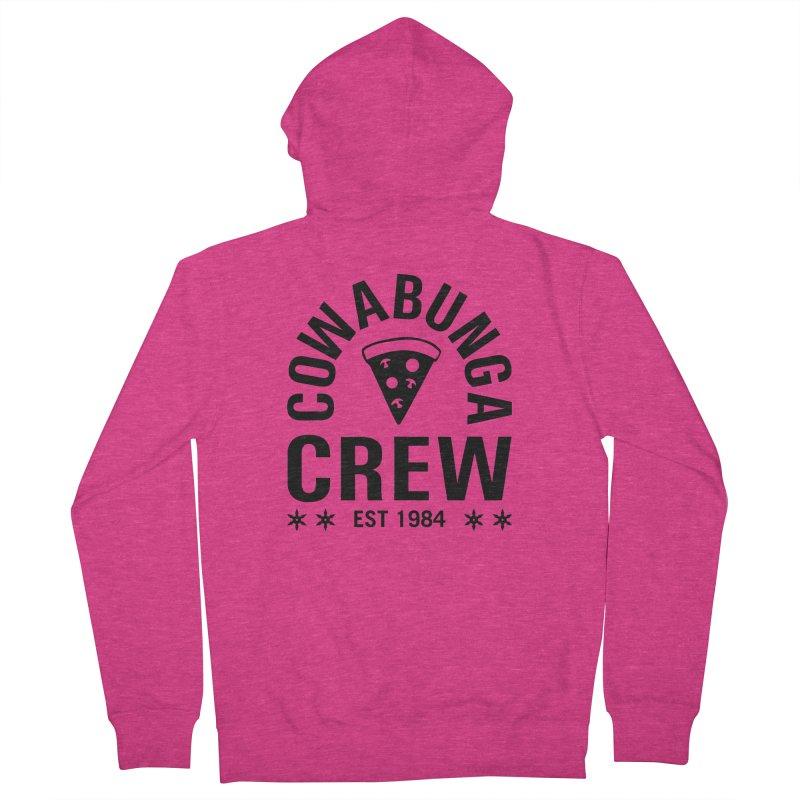 Cowabunga Crew Women's French Terry Zip-Up Hoody by Greg Gosline Design Co.