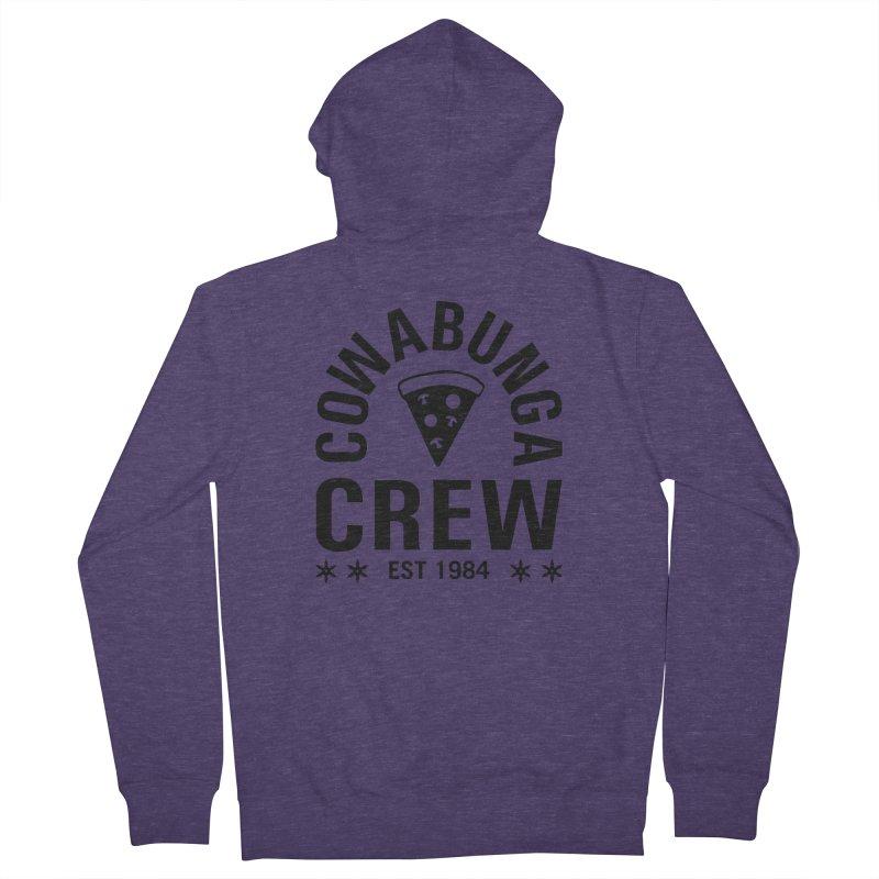 Cowabunga Crew Men's Zip-Up Hoody by Greg Gosline Design Co.