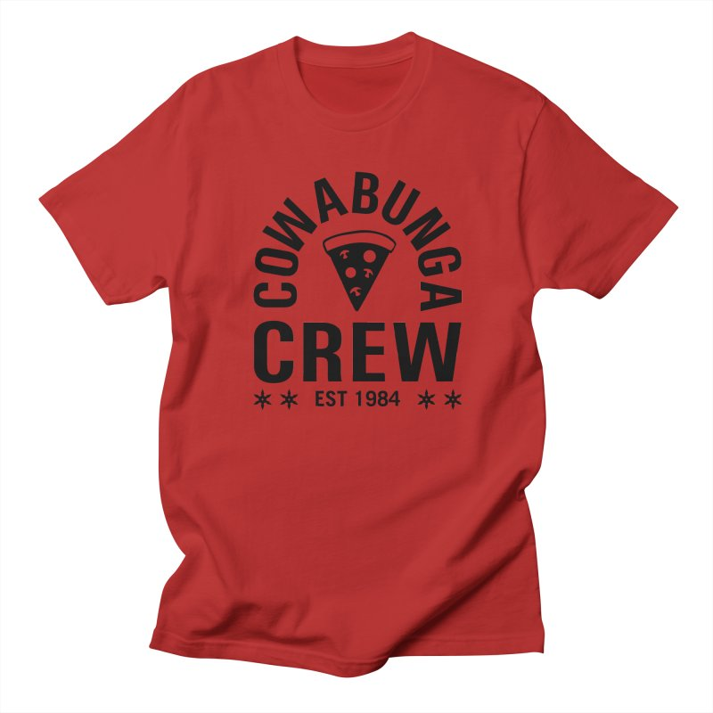 Cowabunga Crew Men's T-shirt by Greg Gosline Design Co.