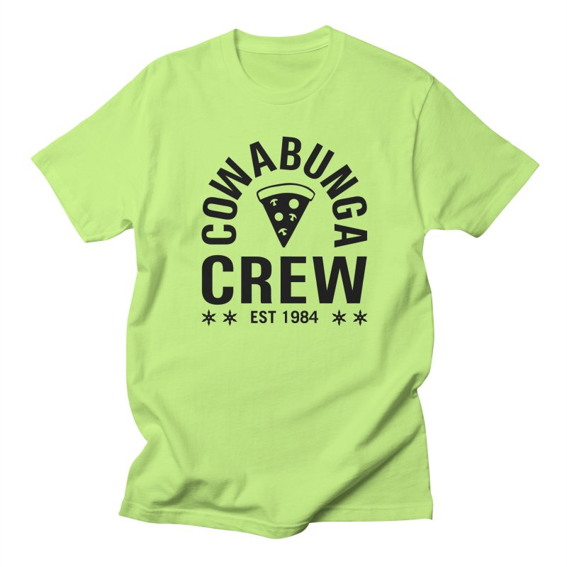Cowabunga Crew Women's Regular Unisex T-Shirt by Greg Gosline Design Co.