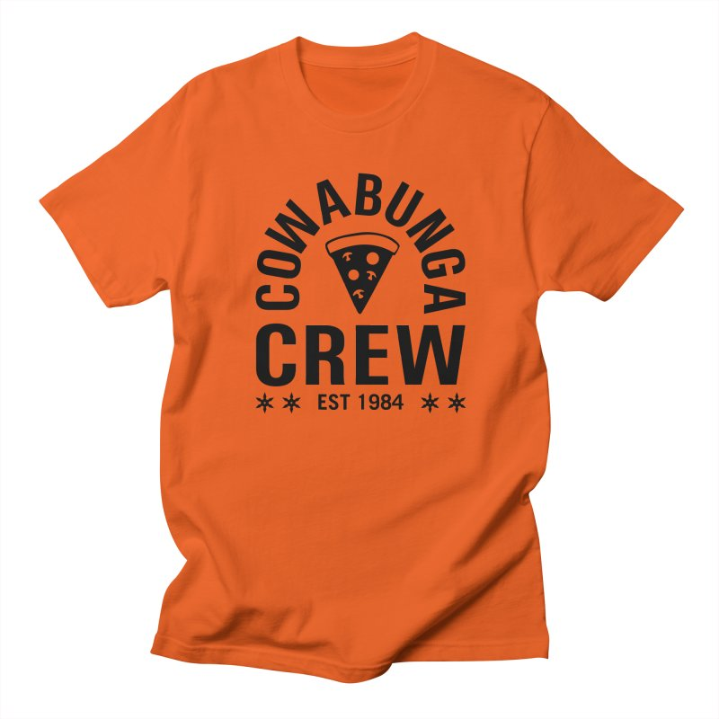 Cowabunga Crew Women's Unisex T-Shirt by Greg Gosline Design Co.