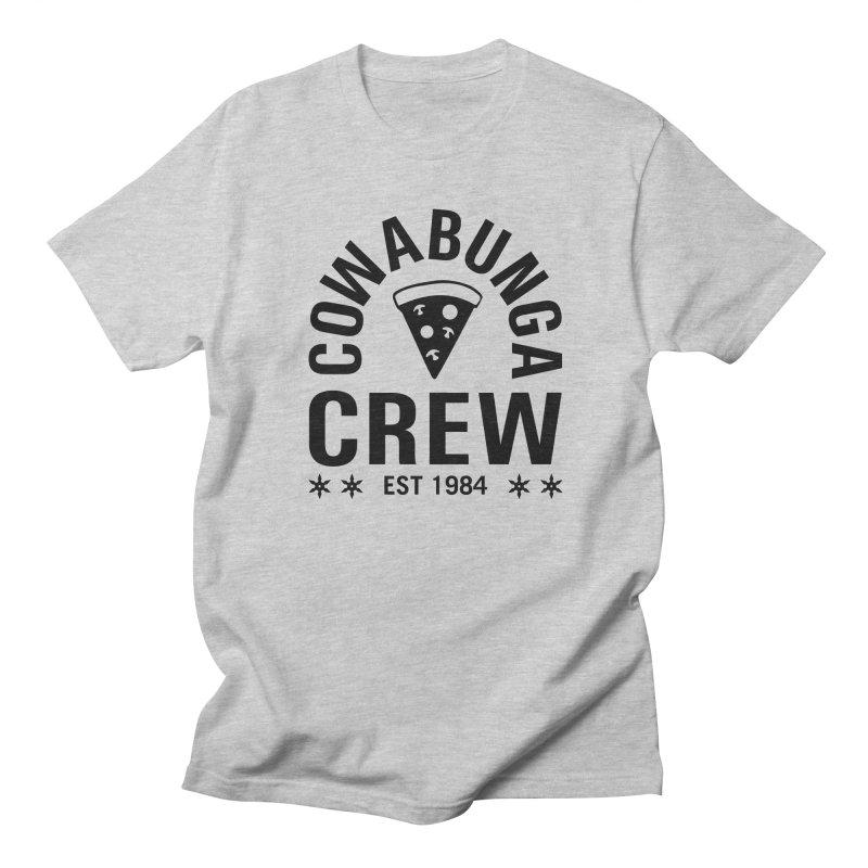 Cowabunga Crew Men's T-Shirt by Greg Gosline Design Co.