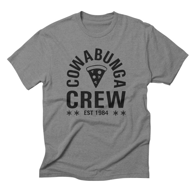 Cowabunga Crew Men's Triblend T-Shirt by Greg Gosline Design Co.