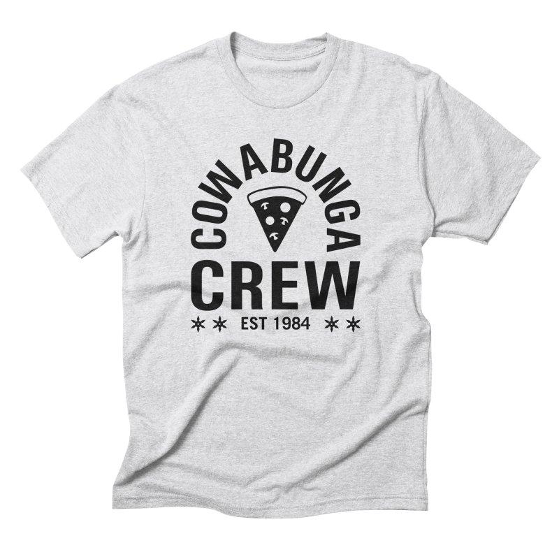 Cowabunga Crew Men's Triblend T-Shirt by Greg Gosline Design Co.