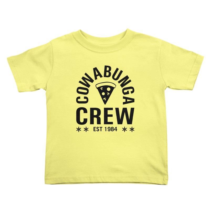 Cowabunga Crew Kids Toddler T-Shirt by Greg Gosline Design Co.