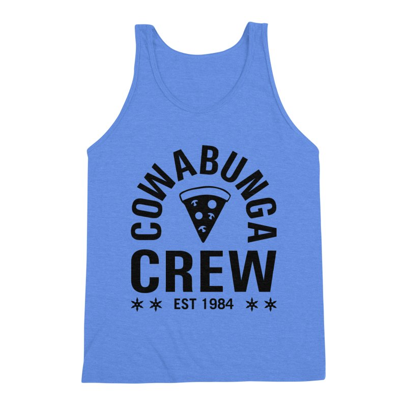 Cowabunga Crew Men's Triblend Tank by Greg Gosline Design Co.