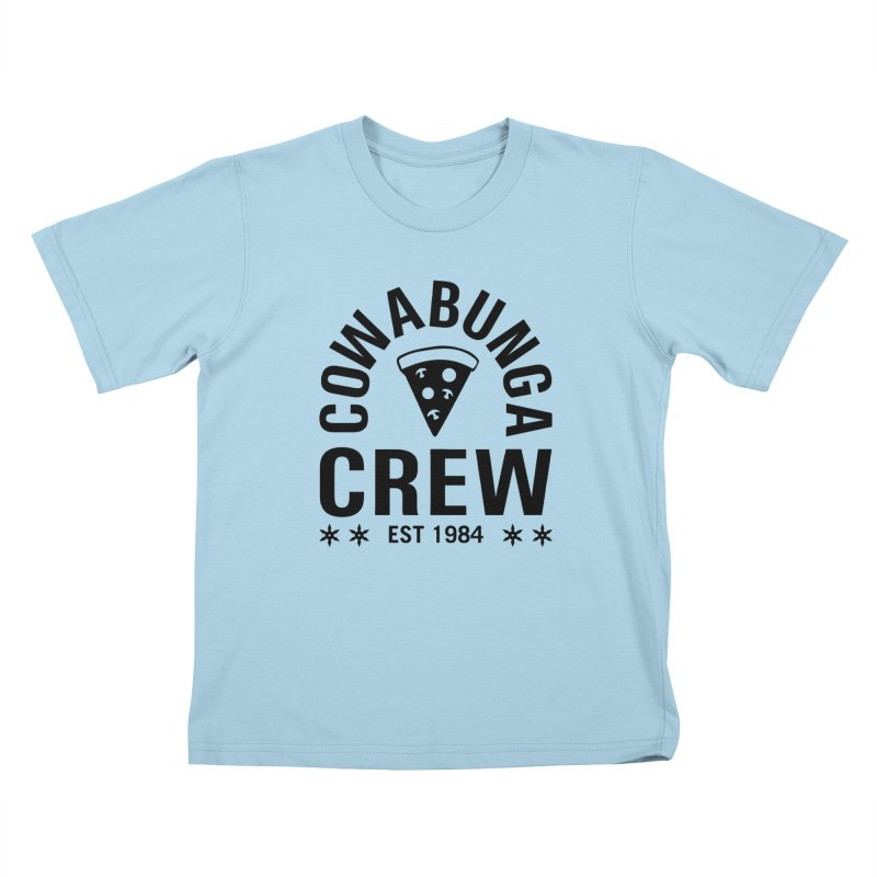 Cowabunga Crew Kids T-Shirt by Greg Gosline Design Co.
