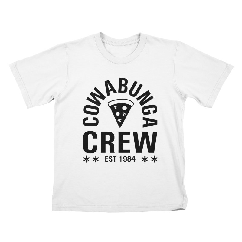 Cowabunga Crew Kids T-Shirt by Greg Gosline Design Co.