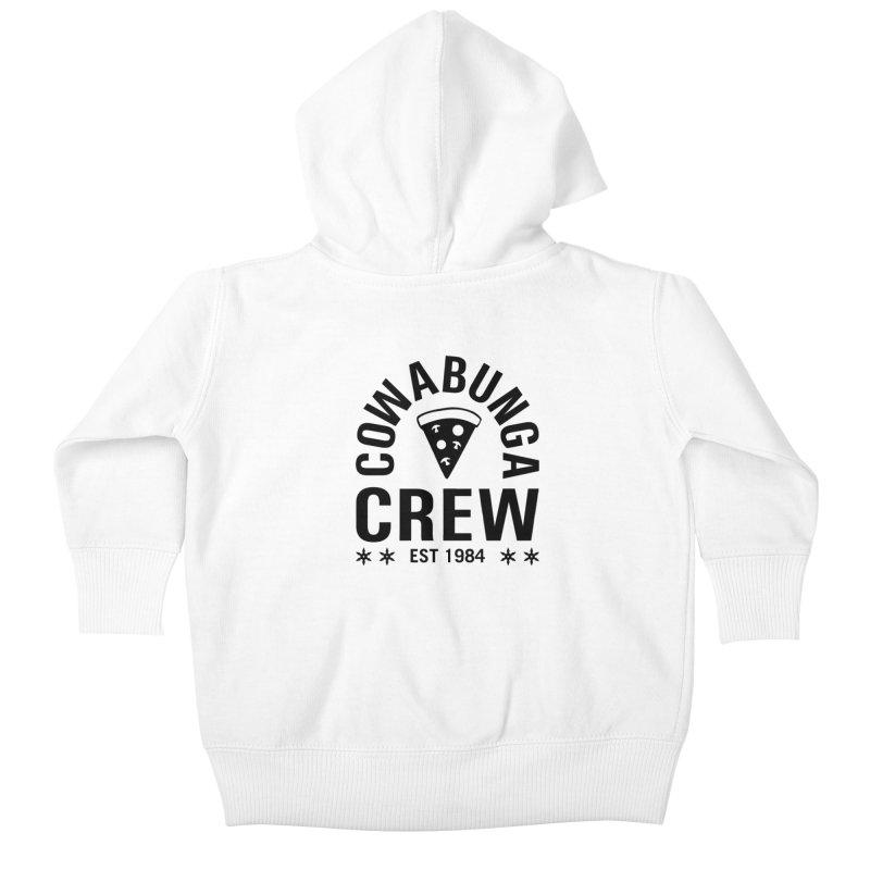 Cowabunga Crew Kids Baby Zip-Up Hoody by Greg Gosline Design Co.