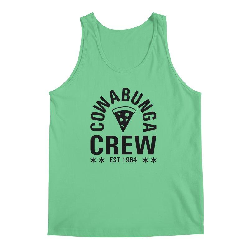 Cowabunga Crew Men's Regular Tank by Greg Gosline Design Co.