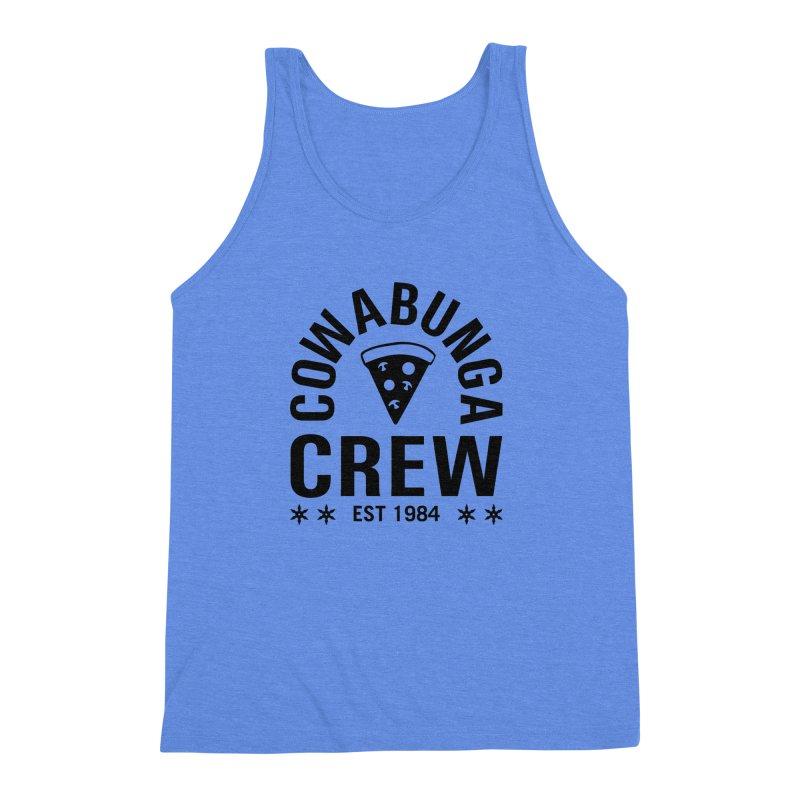 Cowabunga Crew Men's Triblend Tank by Greg Gosline Design Co.