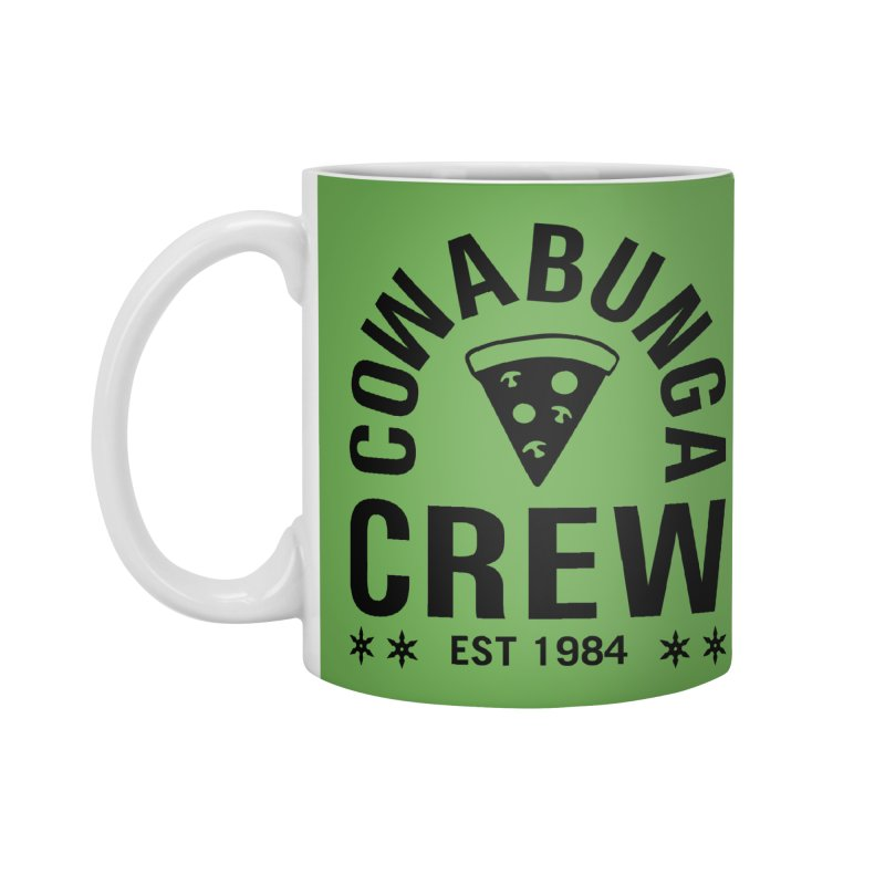 Cowabunga Crew Accessories Mug by Greg Gosline Design Co.