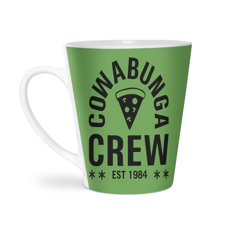 Cowabunga Crew Accessories Latte Mug by Greg Gosline Design Co.