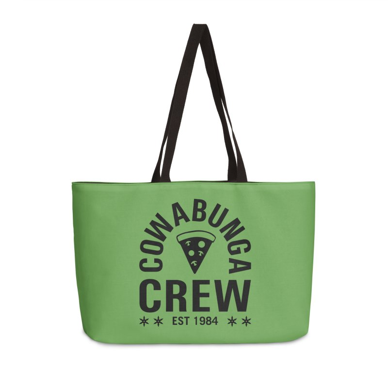 Cowabunga Crew Accessories Weekender Bag Bag by Greg Gosline Design Co.