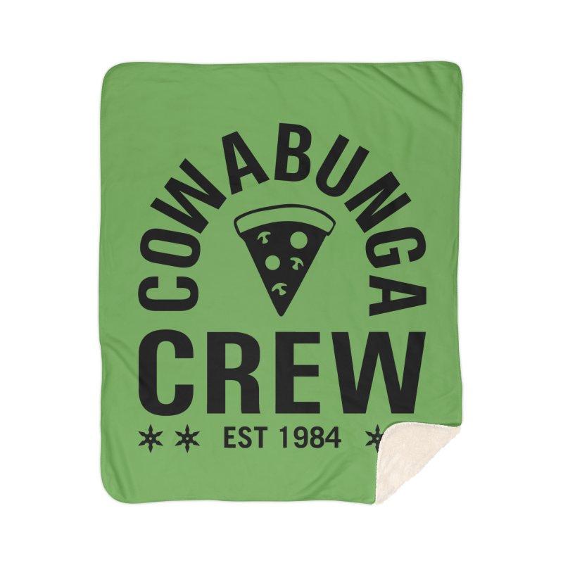 Cowabunga Crew Home Sherpa Blanket Blanket by Greg Gosline Design Co.