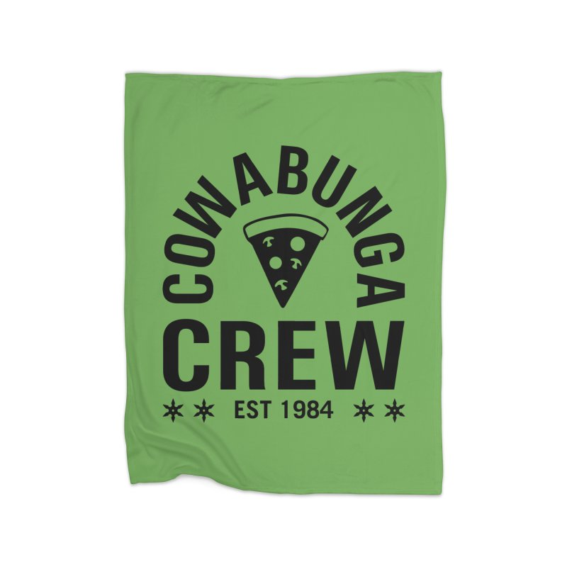 Cowabunga Crew Home Fleece Blanket Blanket by Greg Gosline Design Co.