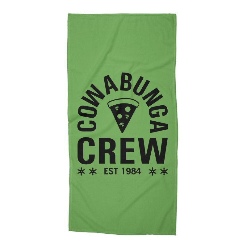 Cowabunga Crew Accessories Beach Towel by Greg Gosline Design Co.