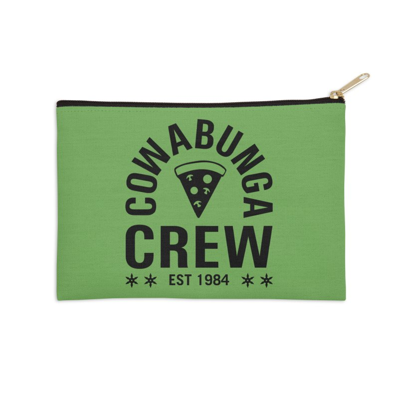 Cowabunga Crew Accessories Zip Pouch by Greg Gosline Design Co.