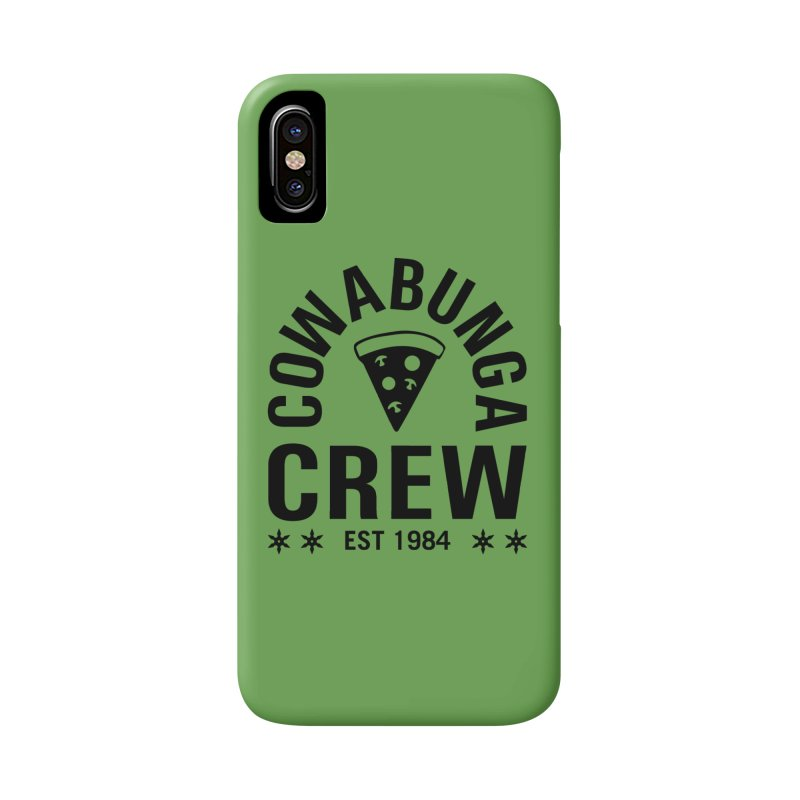 Cowabunga Crew Accessories Phone Case by Greg Gosline Design Co.