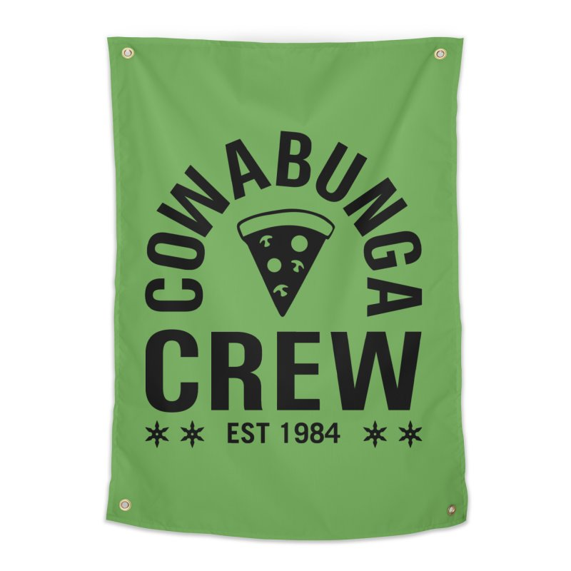 Cowabunga Crew Home Tapestry by Greg Gosline Design Co.
