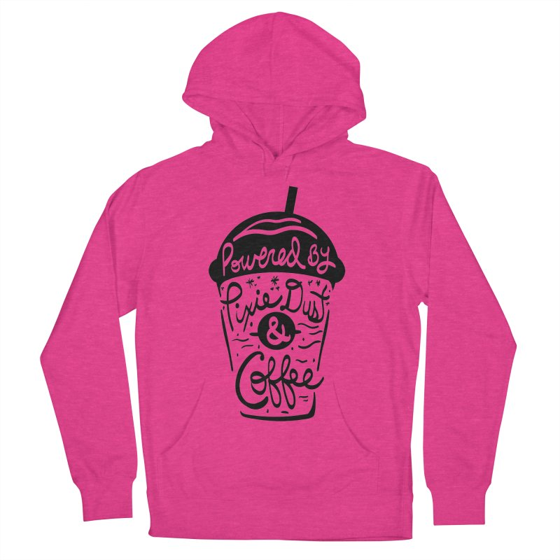 Powered By Women's French Terry Pullover Hoody by Greg Gosline Design Co.