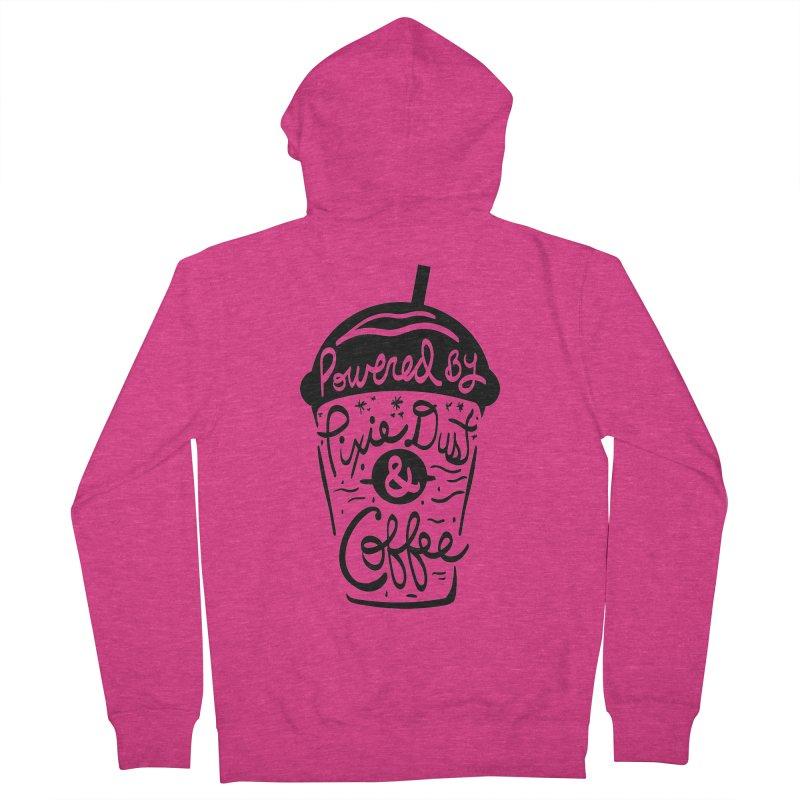 Powered By Women's Zip-Up Hoody by Greg Gosline Design Co.