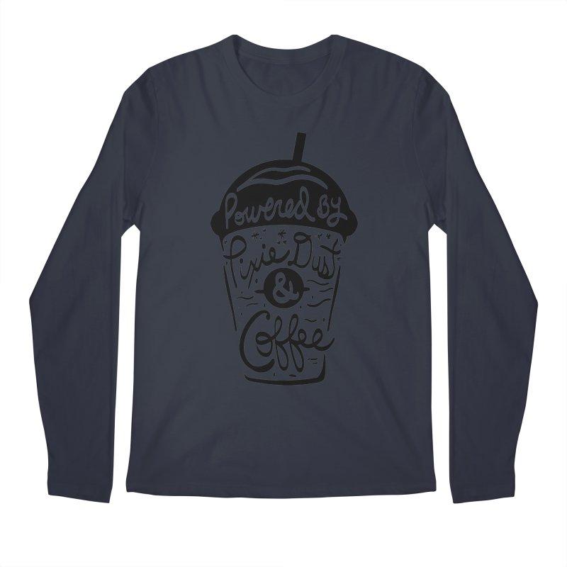 Powered By Men's Regular Longsleeve T-Shirt by Greg Gosline Design Co.