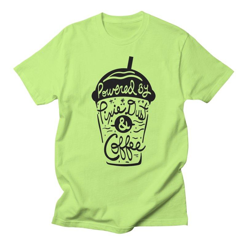 Powered By Men's Regular T-Shirt by Greg Gosline Design Co.