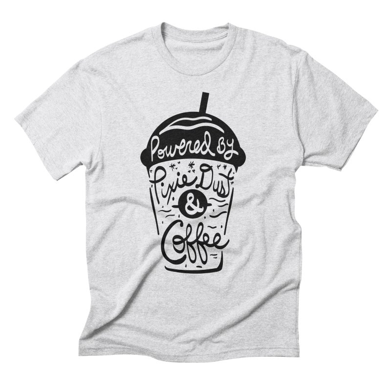 Powered By Men's Triblend T-Shirt by Greg Gosline Design Co.