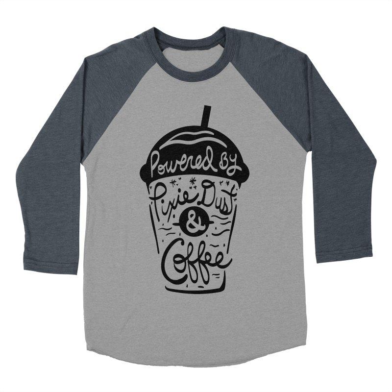 Powered By Women's Baseball Triblend Longsleeve T-Shirt by Greg Gosline Design Co.