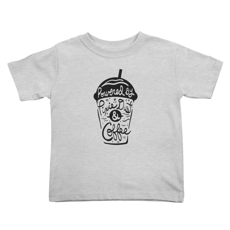 Powered By Kids Toddler T-Shirt by Greg Gosline Design Co.