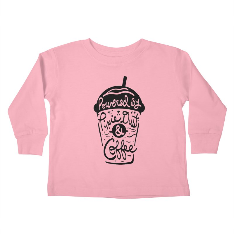 Powered By Kids Toddler Longsleeve T-Shirt by Greg Gosline Design Co.