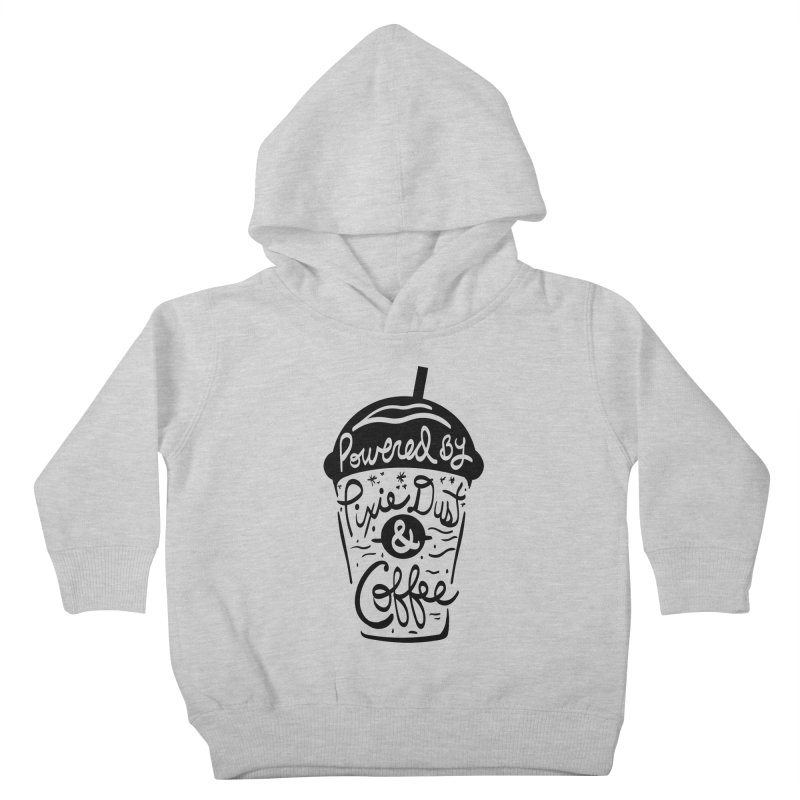 Powered By Kids Toddler Pullover Hoody by Greg Gosline Design Co.