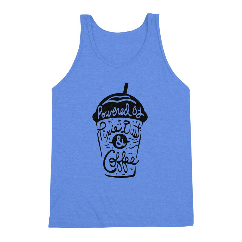 Powered By Men's Triblend Tank by Greg Gosline Design Co.