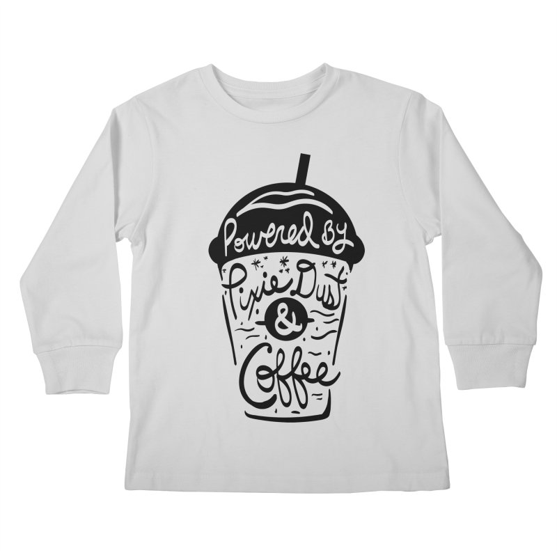 Powered By Kids Longsleeve T-Shirt by Greg Gosline Design Co.