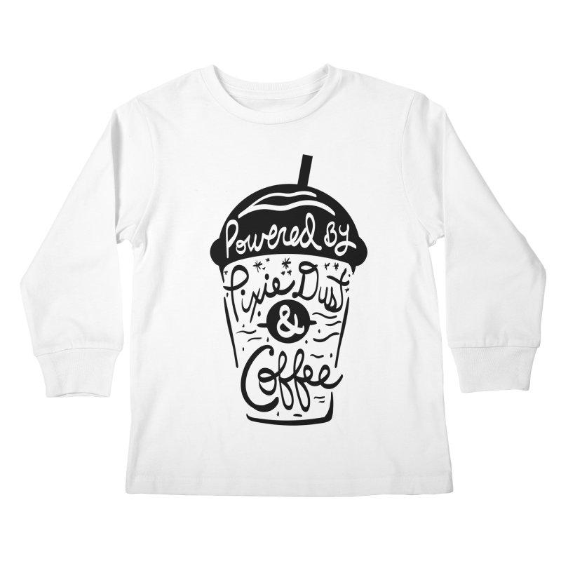 Powered By Kids Longsleeve T-Shirt by Greg Gosline Design Co.