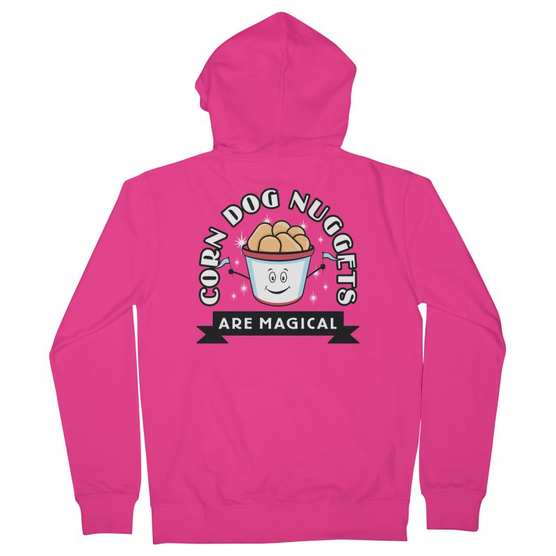 Corn Dog Nuggets Are Magical Men's Zip-Up Hoody by Greg Gosline Design Co.