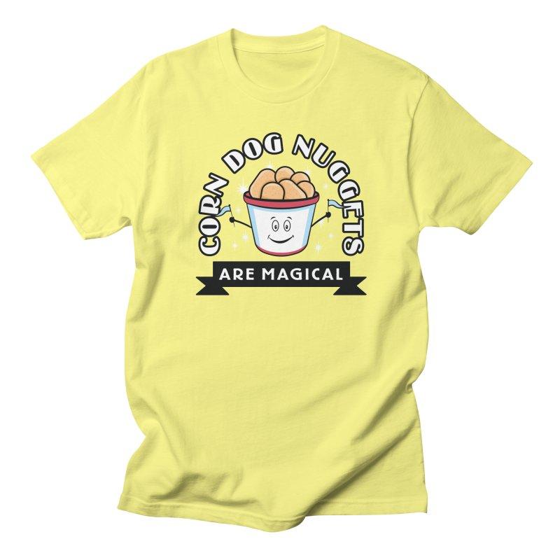Corn Dog Nuggets Are Magical Men's Regular T-Shirt by Greg Gosline Design Co.