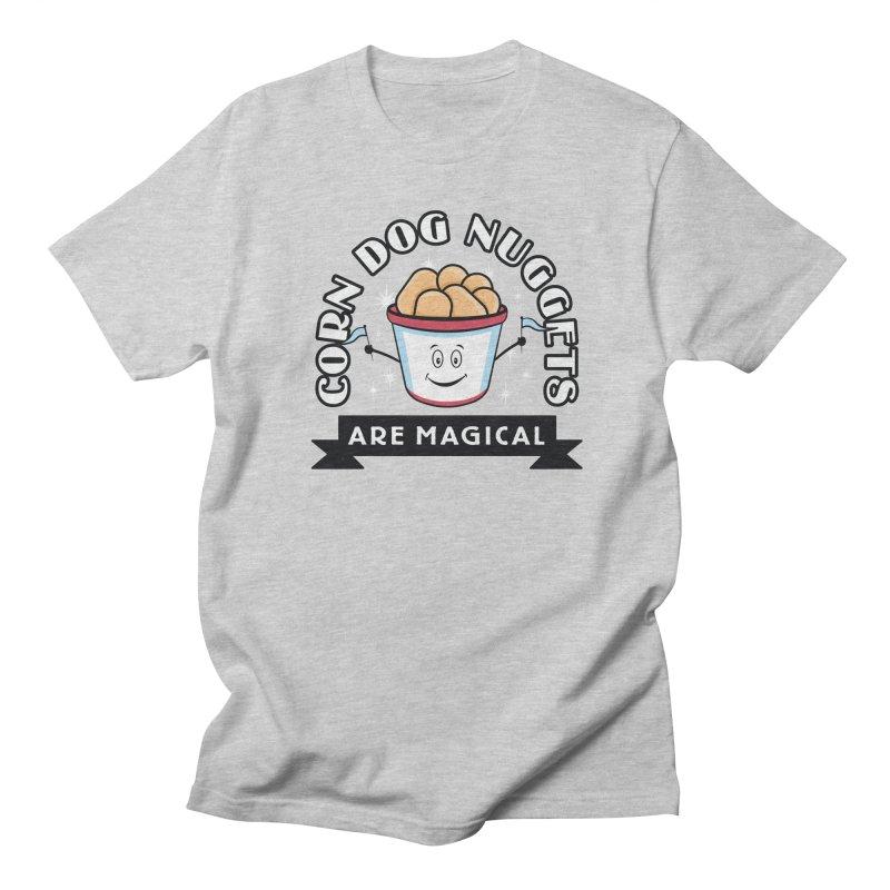 Corn Dog Nuggets Are Magical Women's Regular Unisex T-Shirt by Greg Gosline Design Co.