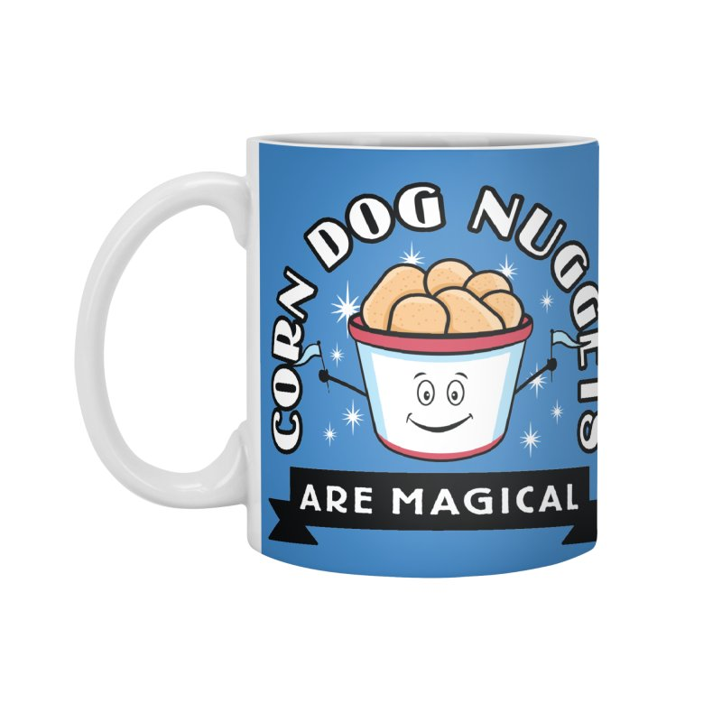 Corn Dog Nuggets Are Magical Accessories Standard Mug by Greg Gosline Design Co.