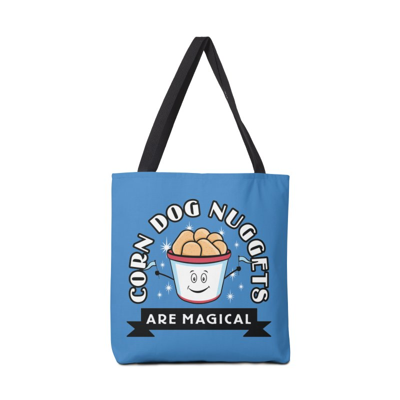 Corn Dog Nuggets Are Magical Accessories Tote Bag Bag by Greg Gosline Design Co.