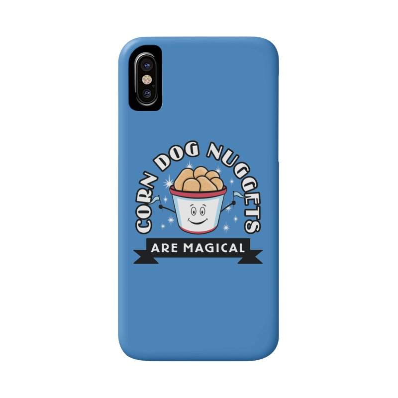 Corn Dog Nuggets Are Magical Accessories Phone Case by Greg Gosline Design Co.