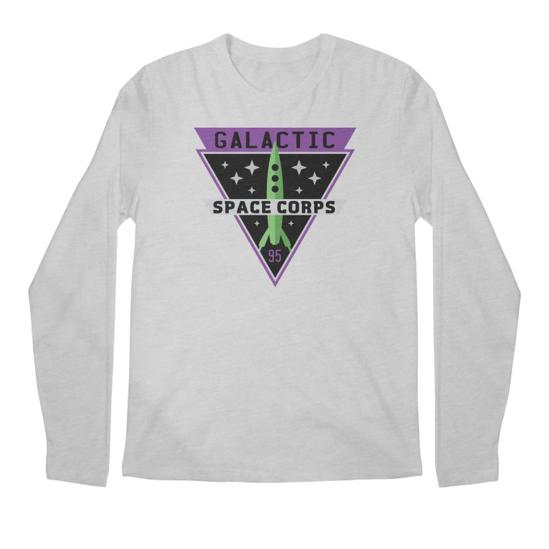 Galactic Space Corps Men's Regular Longsleeve T-Shirt by Greg Gosline Design Co.