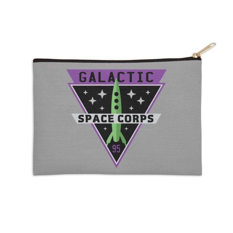Galactic Space Corps Accessories Zip Pouch by Greg Gosline Design Co.