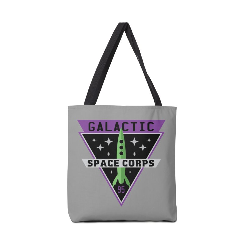 Galactic Space Corps Accessories Bag by Greg Gosline Design Co.
