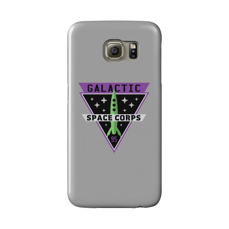 Galactic Space Corps Accessories Phone Case by Greg Gosline Design Co.