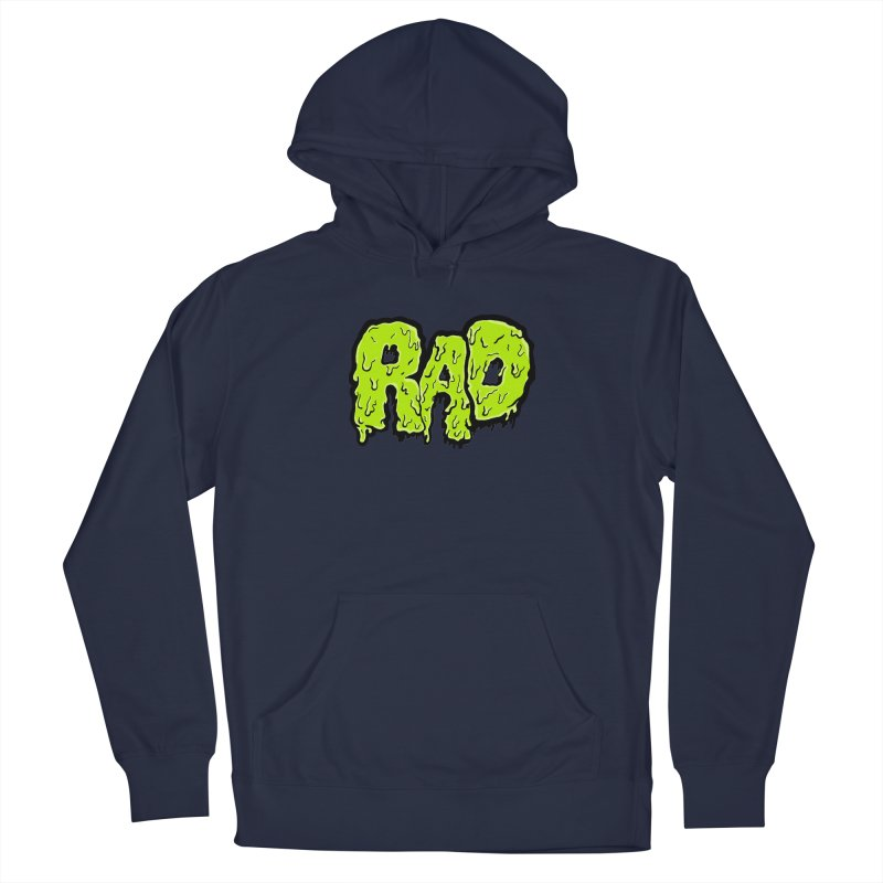 Rad Men's Pullover Hoody by Greg Gosline Design Co.