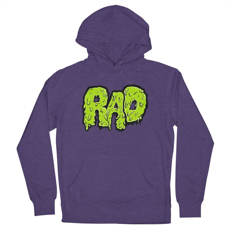 Rad Men's French Terry Pullover Hoody by Greg Gosline Design Co.